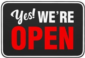 134235805--yes-we-re-open-sign-isolated